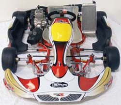 DR Racing Kart with X30 TaG engine