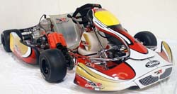 DR Racing Kart with X30 shifter engine