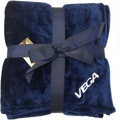 Plush Flannel Blanket  in Cobalt Blue by VGear