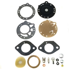Rebuild Kit w/Needle (single stack) - Tillotson