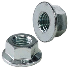 Flange Nut 1/4-28 w/7/16 Hex (12 Pack)