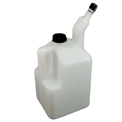 Fuel Jug - 1 Gallon Plastic with Pour Handle