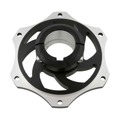 30mm Sprocket Hub - Anodized Aluminum - 6 Hole