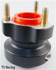 40mm Wheel Hub Anodized - 60mm