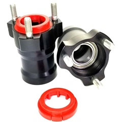Front Hub for 25mm Spindle x 75mm Long