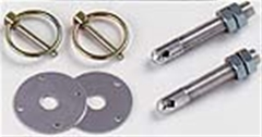 Hood Pin Kit - Aluminum