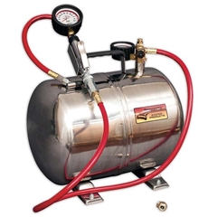 Aluminum 5 Gal. Air Tank w/Gauge 0-60 PSI
