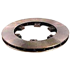 Brake Rotor - 6 Spoke Vented - 12mm x 210mm