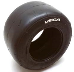Vega Onewheel Pint 10.5 x 4.50- 6 Slick Tires - Maximum Traction White