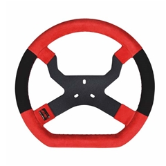 MyChron 5 Steering Wheel - Red/Black 3 Hole