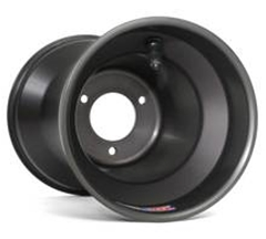 Douglas Dirt Oval Q-Plus Wheel Set - Black