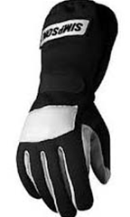 Simpson Posi Grip Glove - Black Medium