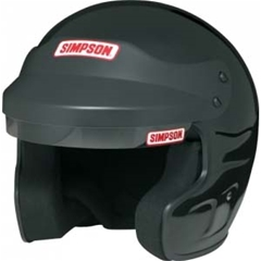 Simpson FR Cruiser Helmet - Gloss Black 7 1/4
