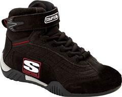 Simpson Youth Adrenaline Driving Shoe - Black