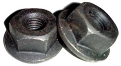Flange Nut 1/4-28 w/1/2 Hex (12 Pack)