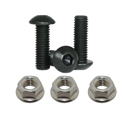 Split Rim Bolt Kit 1/4-28 with Nuts