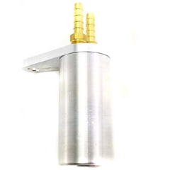 Aluminum Clone Catch Can - Light weight w/fittings
