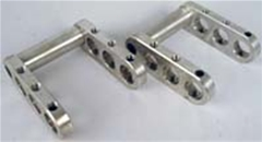 Billet Pedal Extensions - 4 3/4 inch