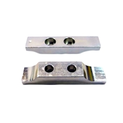 "PMI Butterfly Clamps -2 Hole @ 7/8"" Center - Pair for T 7578-A"