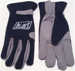 Youth Driving Gloves - Black - Long