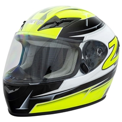 Zamp FS9 Adult Helmet - Green and Black