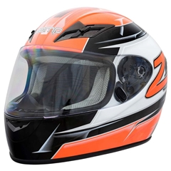 Zamp FS9 Adult Helmet - Orange and Black