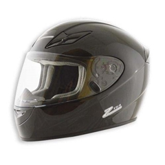 Zamp Adult Helmet - Gloss Black