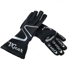 VGear Youth Gauntlet Kart Racing Gloves