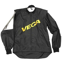 Youth Racing Jacket Black w/Vega Logo by VGear