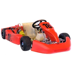 Veloce Cadet Go Kart w/ New Comer 80cc Engine Package