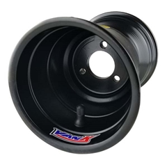 Van K 7.25 x 2.5 x 4.5 Metric Machined Wheel - Black