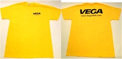 Vega T-Shirt Short Sleeve - Yellow