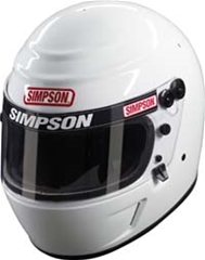 Simpson Voyager Evolution Helmet - White 7 1/8