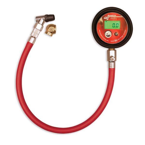 Digital Tire Gauge 0 to 60 psi - Longacre