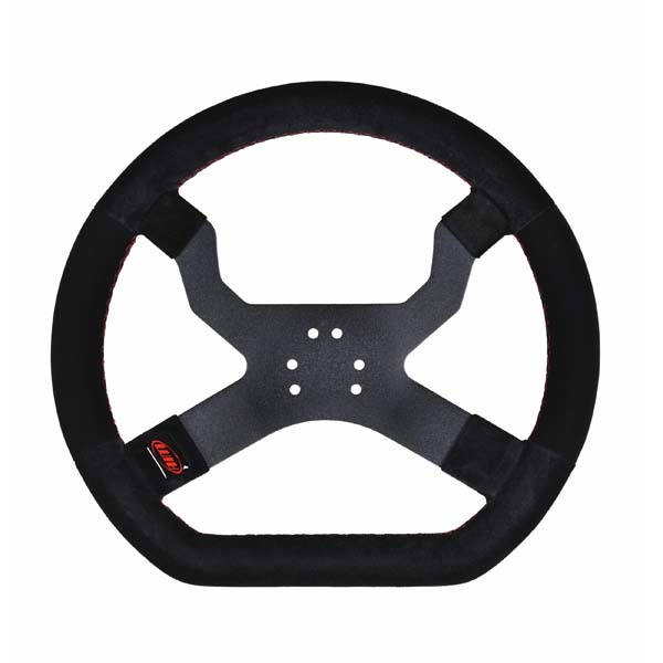 MyChron 5 Steering Wheel - Black 6 Hole