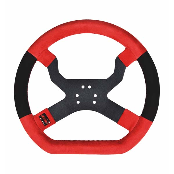 MyChron 5 Steering Wheel - Red/Black 6 Hole
