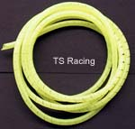 "Nylon Spiral Wire Wrap 1/4"" Yellow - 10' roll"