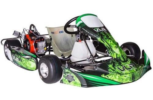 VLR Emerald Racing Go Kart - L206 Engine Package w/tires