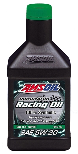 Amsoil Dominator 5W-20 Synthetic Racing Oil