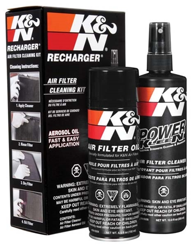 K&N Aerosol Oil & Cleaner Kit