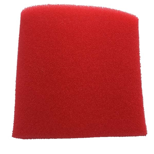 "Filter Wrap Red 3.75"" x 4""  long"