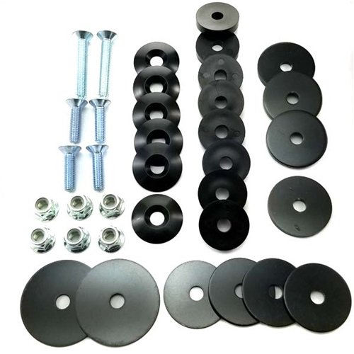 Seat Bolt Kit Complete Metric - 8mm