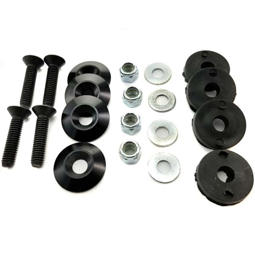 "Seat Bolt Kit - 5/16""-18 Bolts, Nuts, Washers, Grommets"