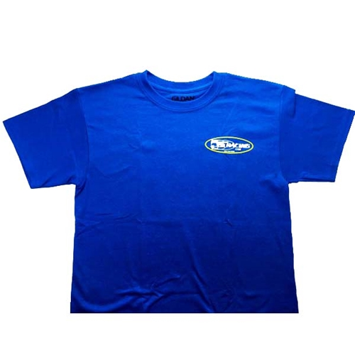 Youth Short Sleeve Shirt  - Royal Blue