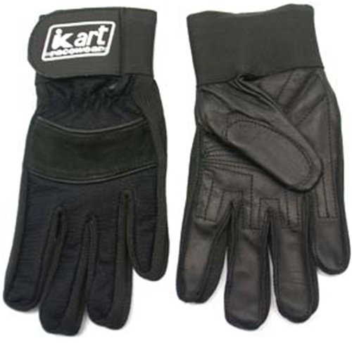 Youth Driving Gloves - Black - Short