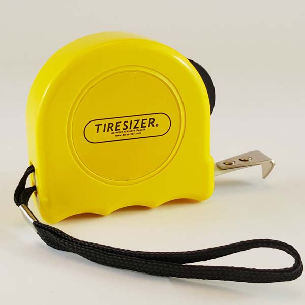 Tire Sizer - Stagger Measuring Tape