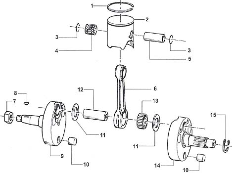 CRS Crankshaft Assembly